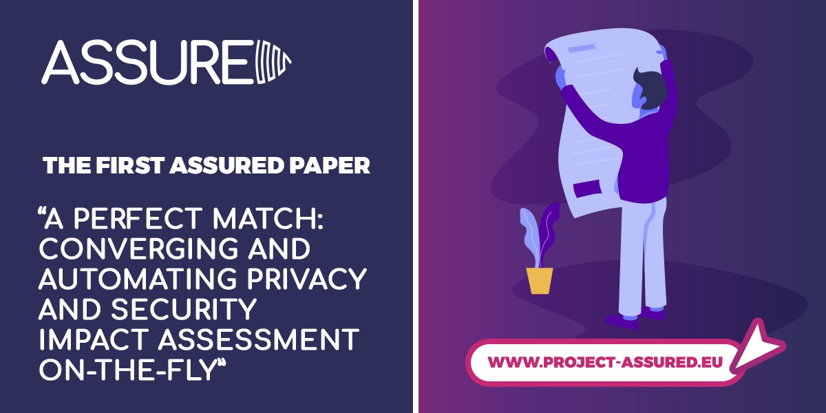 """The first ASSURED paper """"A Perfect Match: Converging and Automating Privacy and Security Impact Assessment On-the-Fly"""""""
